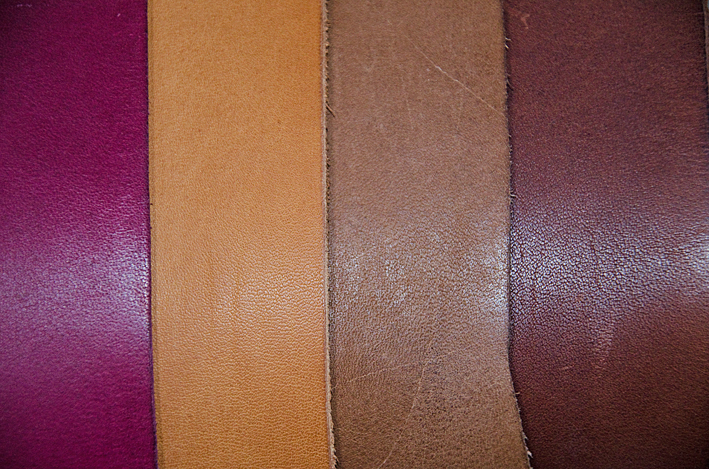 Pampas collection - Wine, Cognac, Ranch och Mustang. Tjocklek 2,4-2,6 mm.